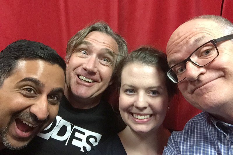 Neel, Phil, Vanessa, and Bruce