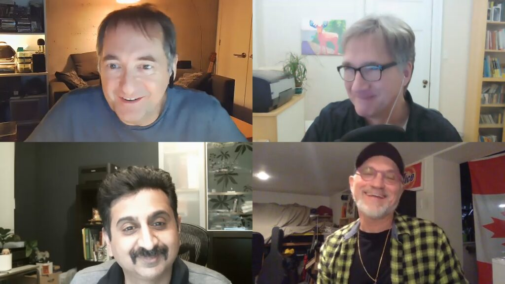 Mike, Phil, Neel, and Norm